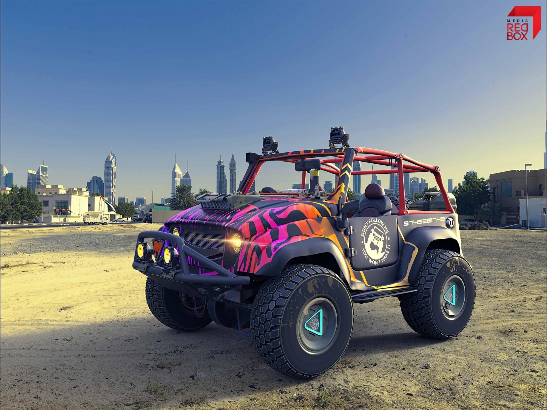 Krishna das jeep modified 9low