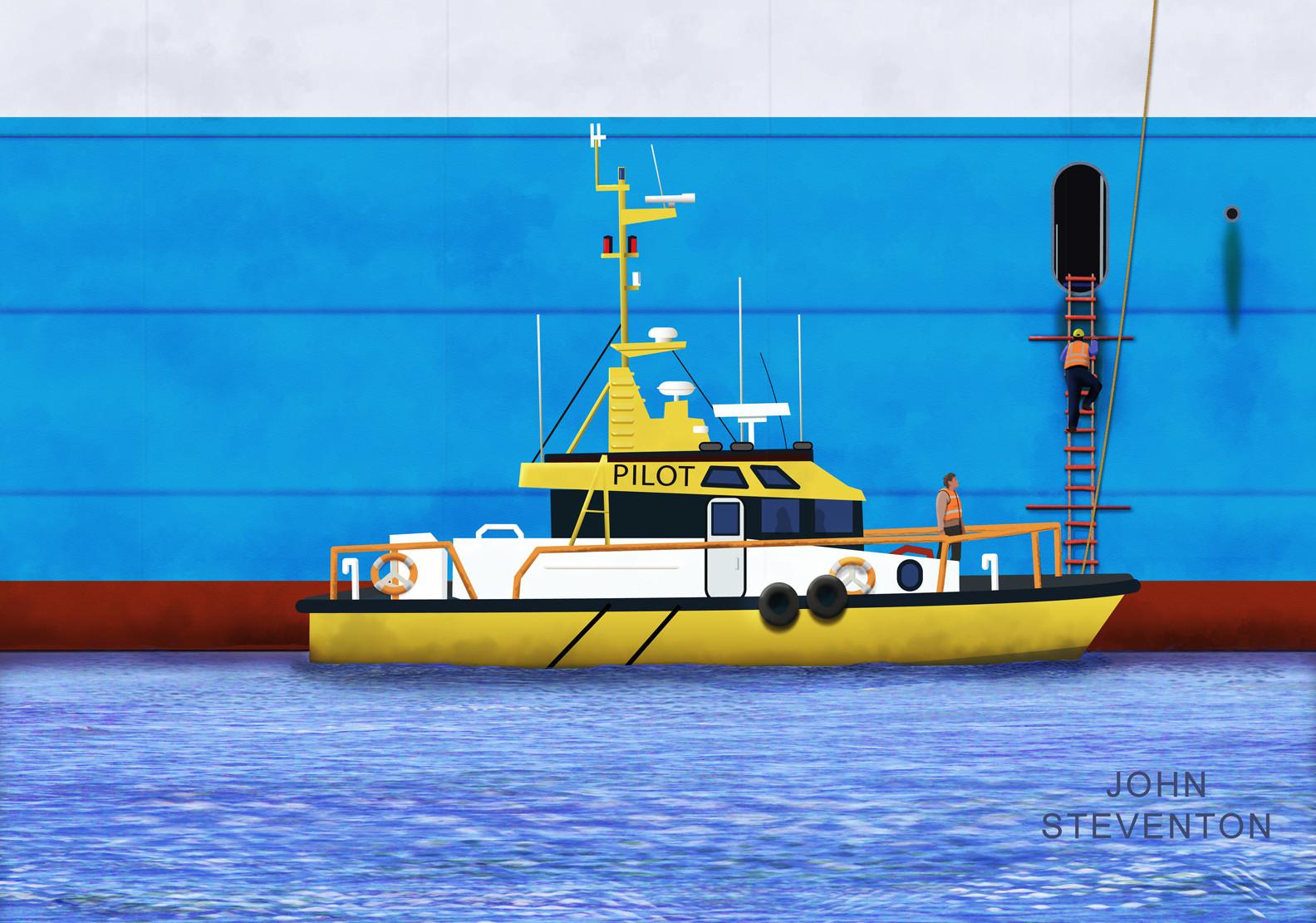 Pilot Boarding Ship