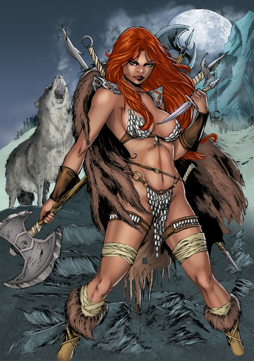 Red Sonja (Colours, 2017)