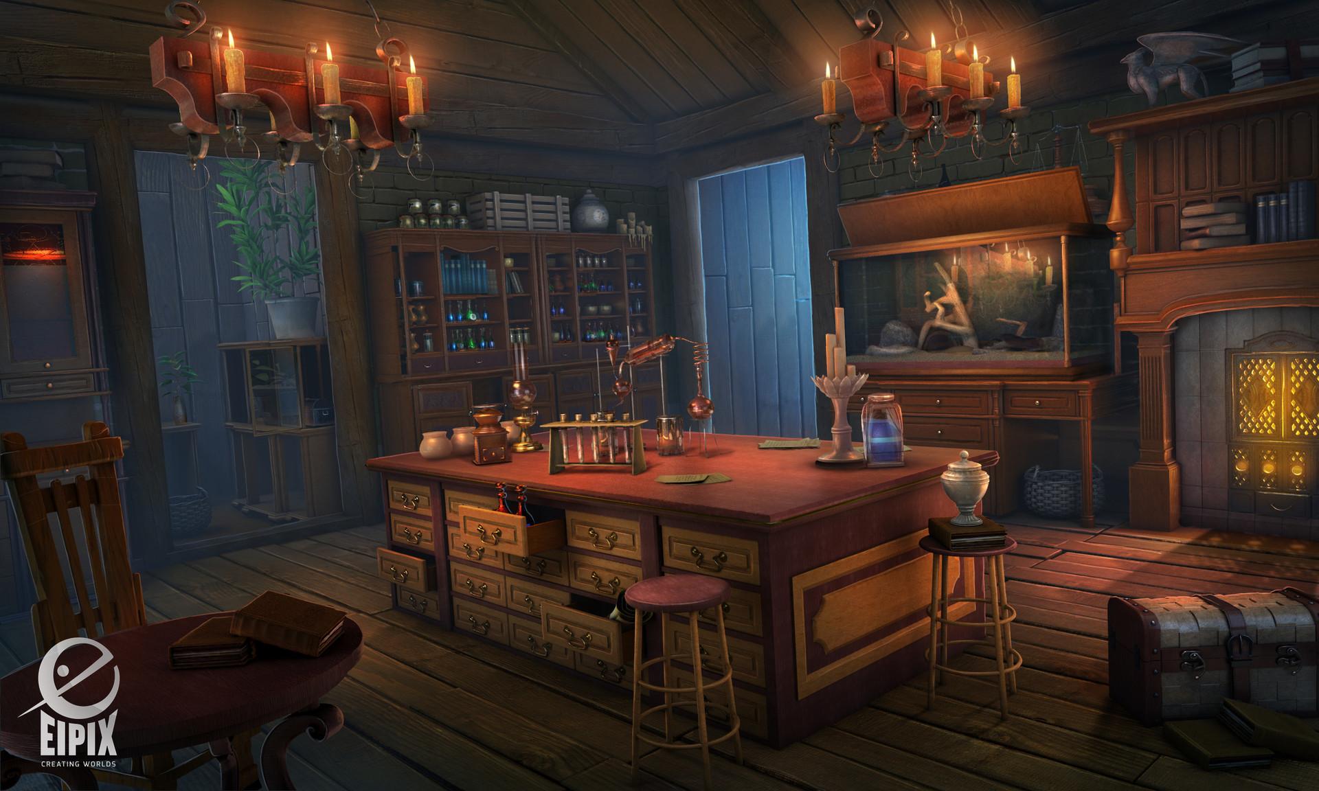 Alchemist Shop Scene (Myths Of The World: The