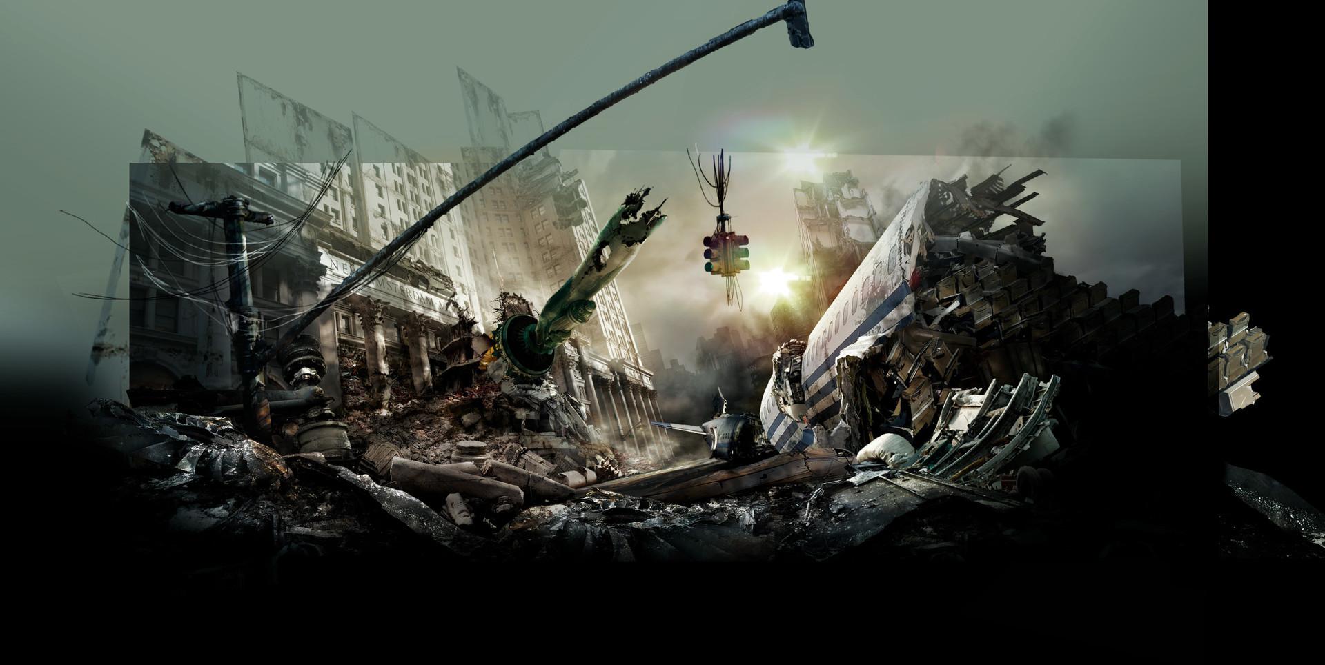 Daniele afferni daniele afferni asc asc afferni citelli mari mattepainting age of disaster fullframe