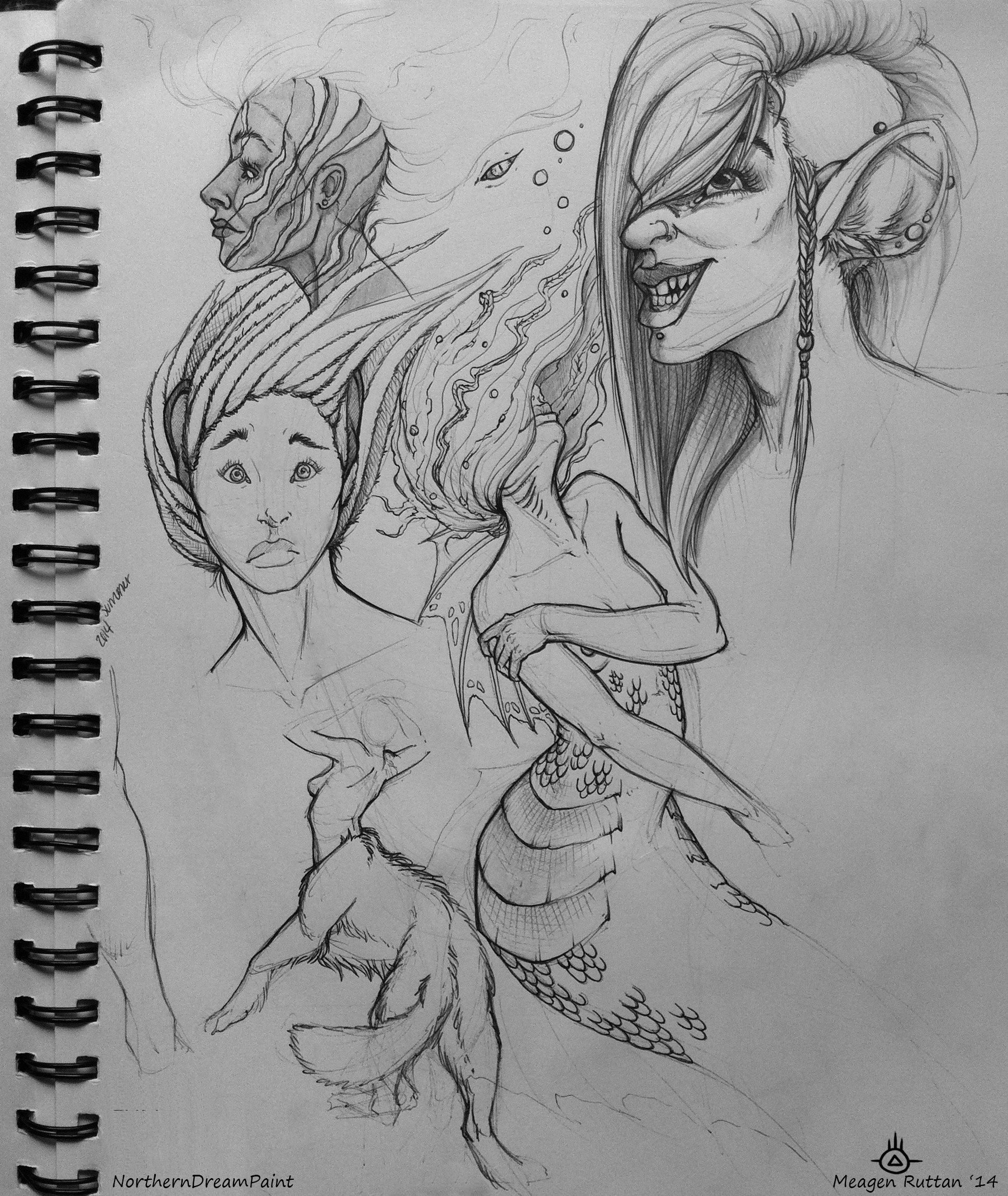 Meagen ruttan sketchbook 2015 01