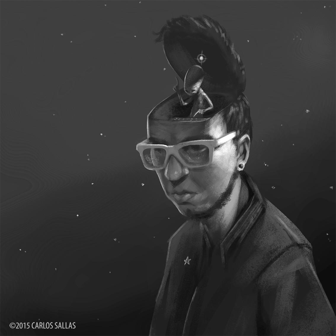 Self Portrait Sketch 2015