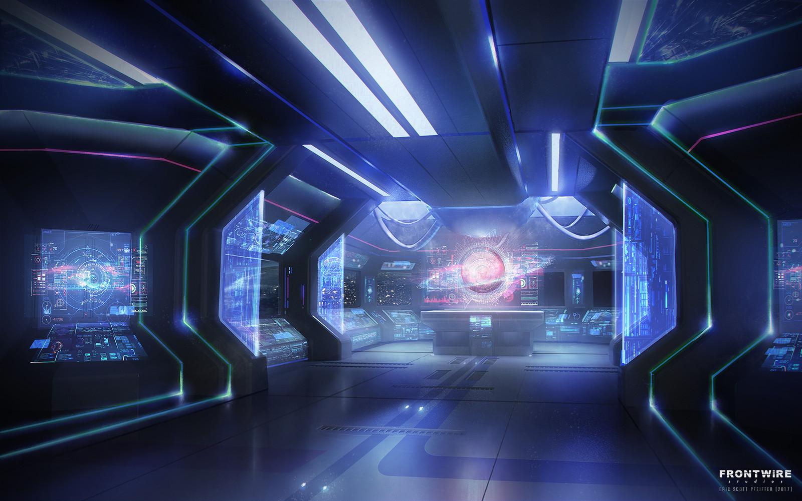 Galaxy in Turmoil Vori Ship Interior