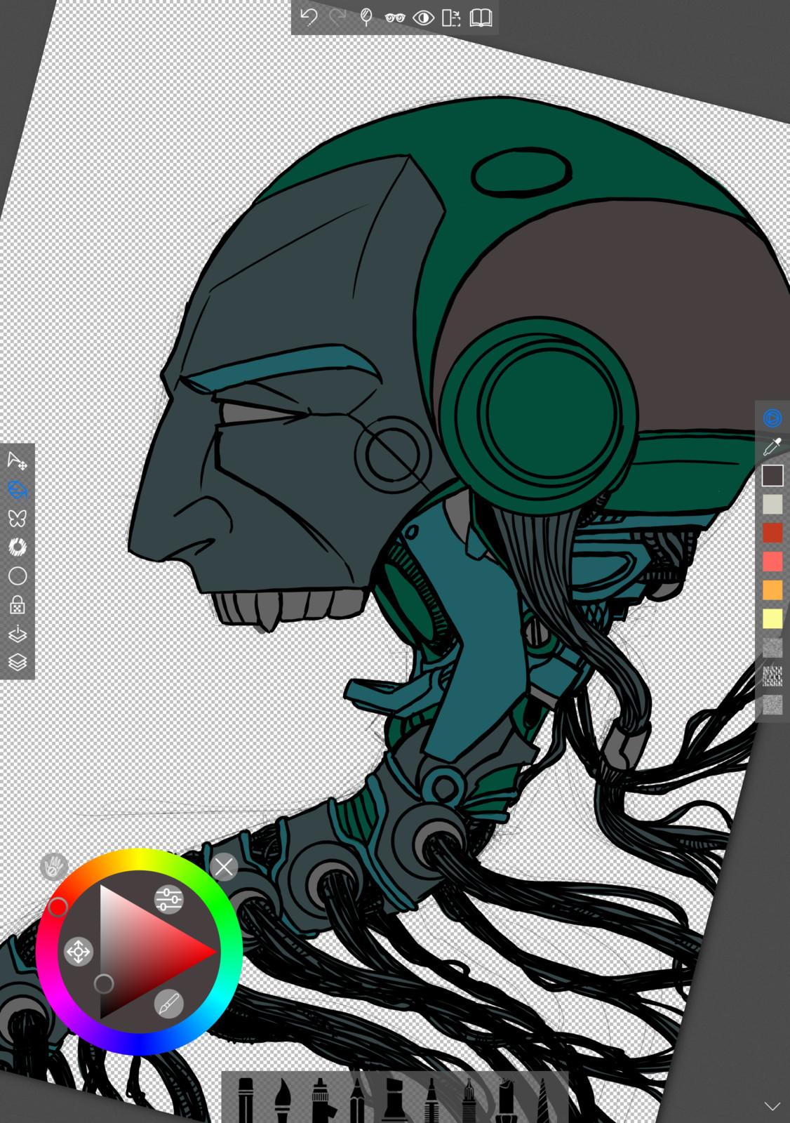 03 - Painting the base flat colors