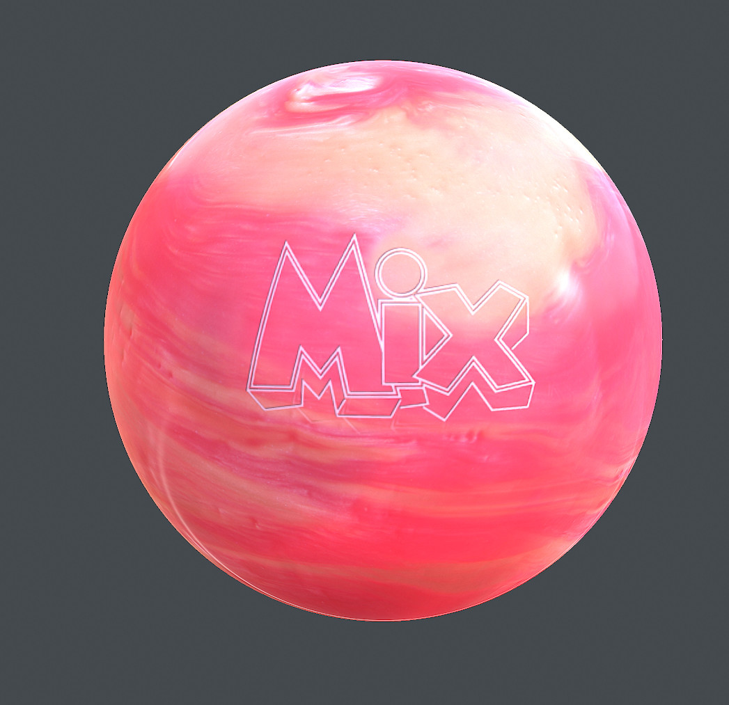 Sergey tabakov mix ball map texture pink white2