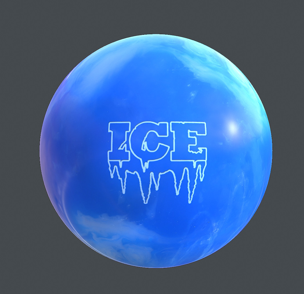 Sergey tabakov ice ball map texture blue white1
