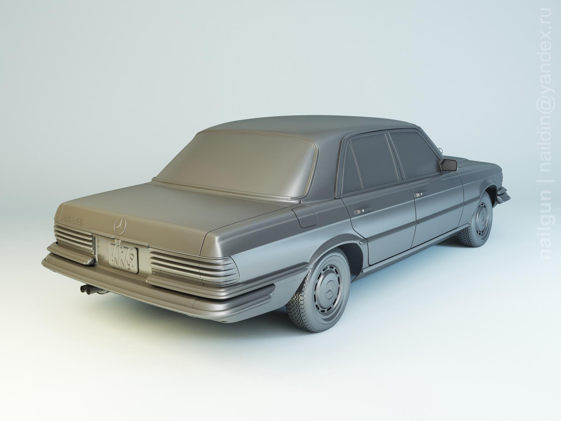 Nail khusnutdinov pwc 022 004 mercedes w116 modelling 1