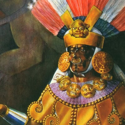 Science meets art old lord of sipan burial 3 sipan cut