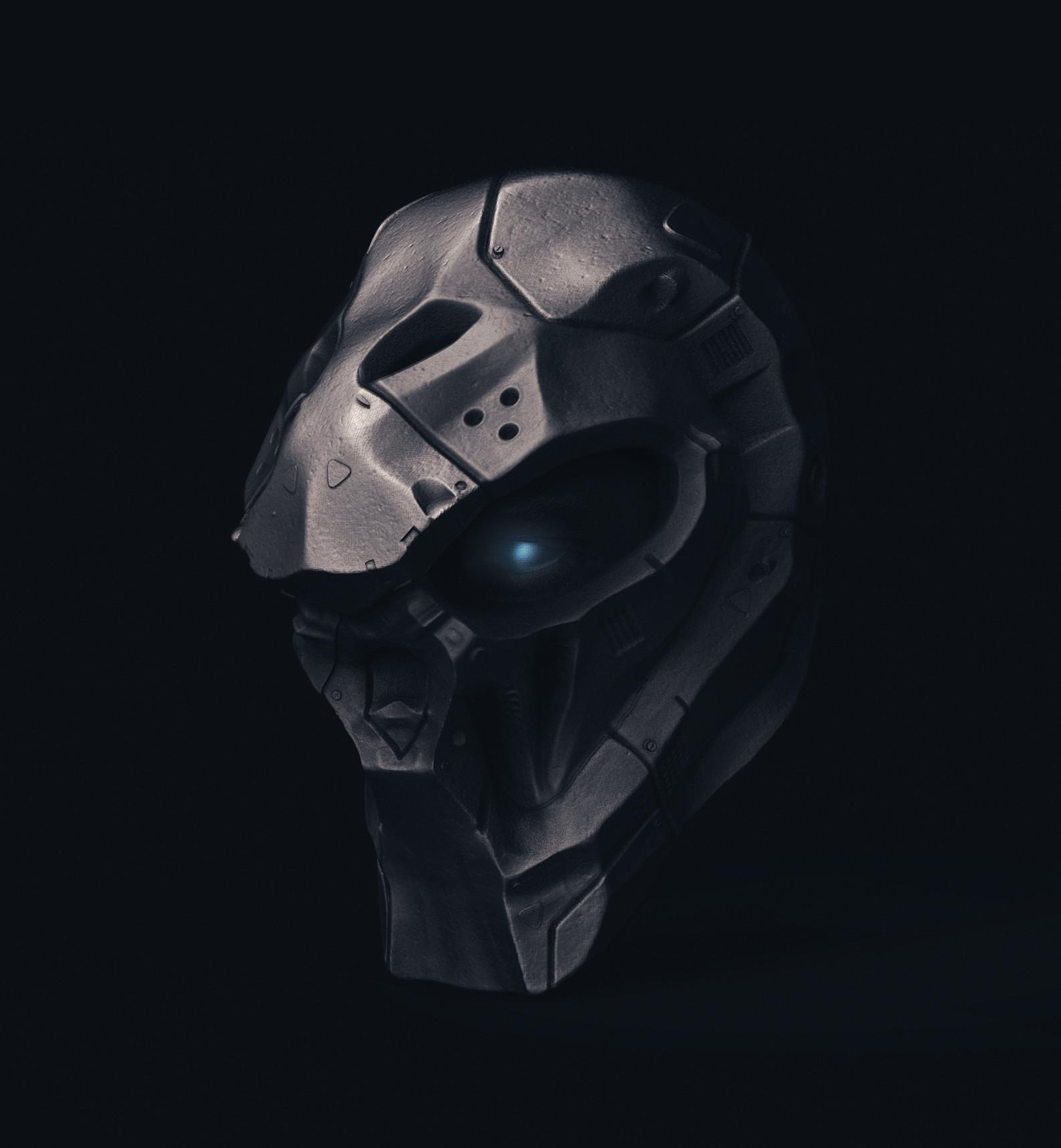 Ry cloze skull robot1