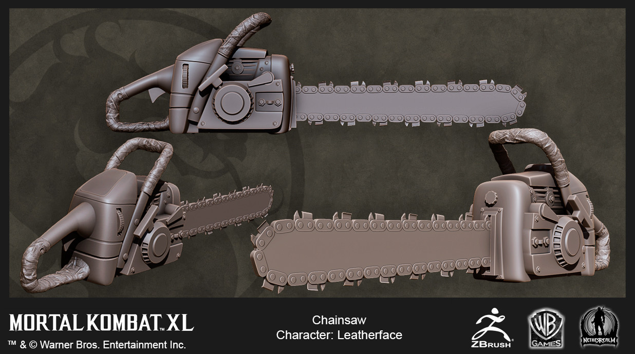 Leatherface Chainsaw High Res