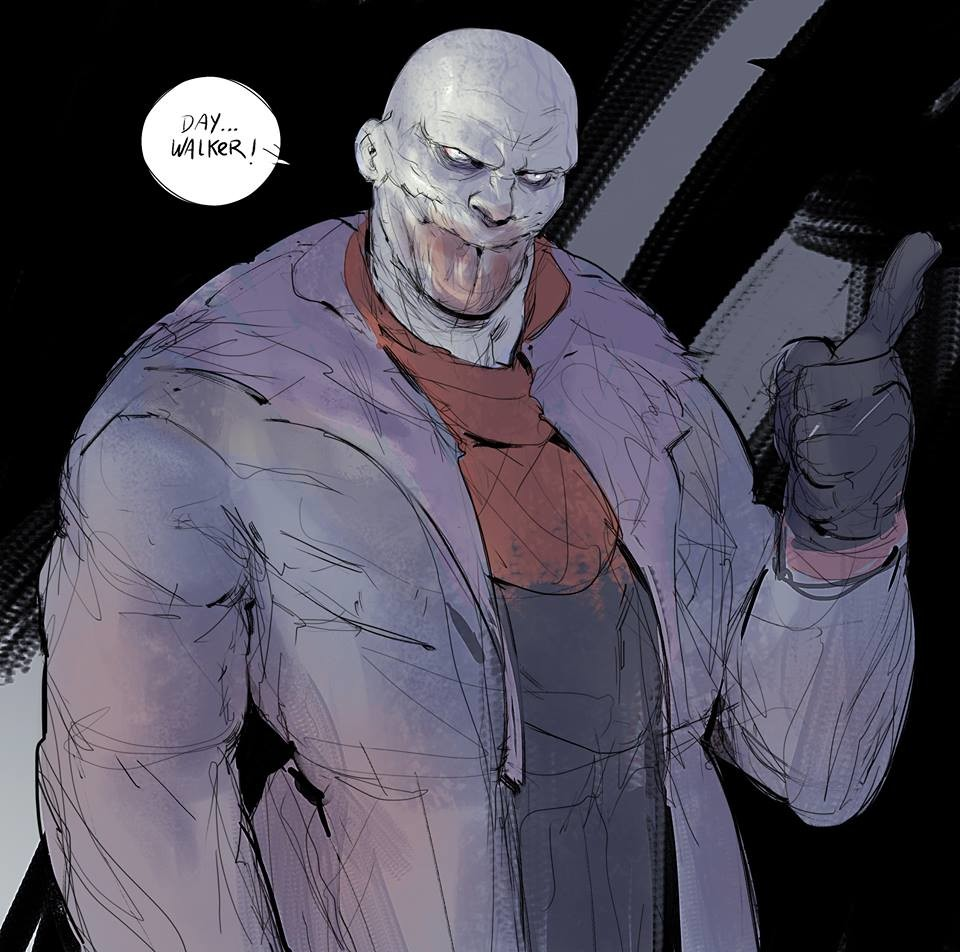 If any time in my life I do some comic of Blade, this would be definitely my version of Jared Nomak..