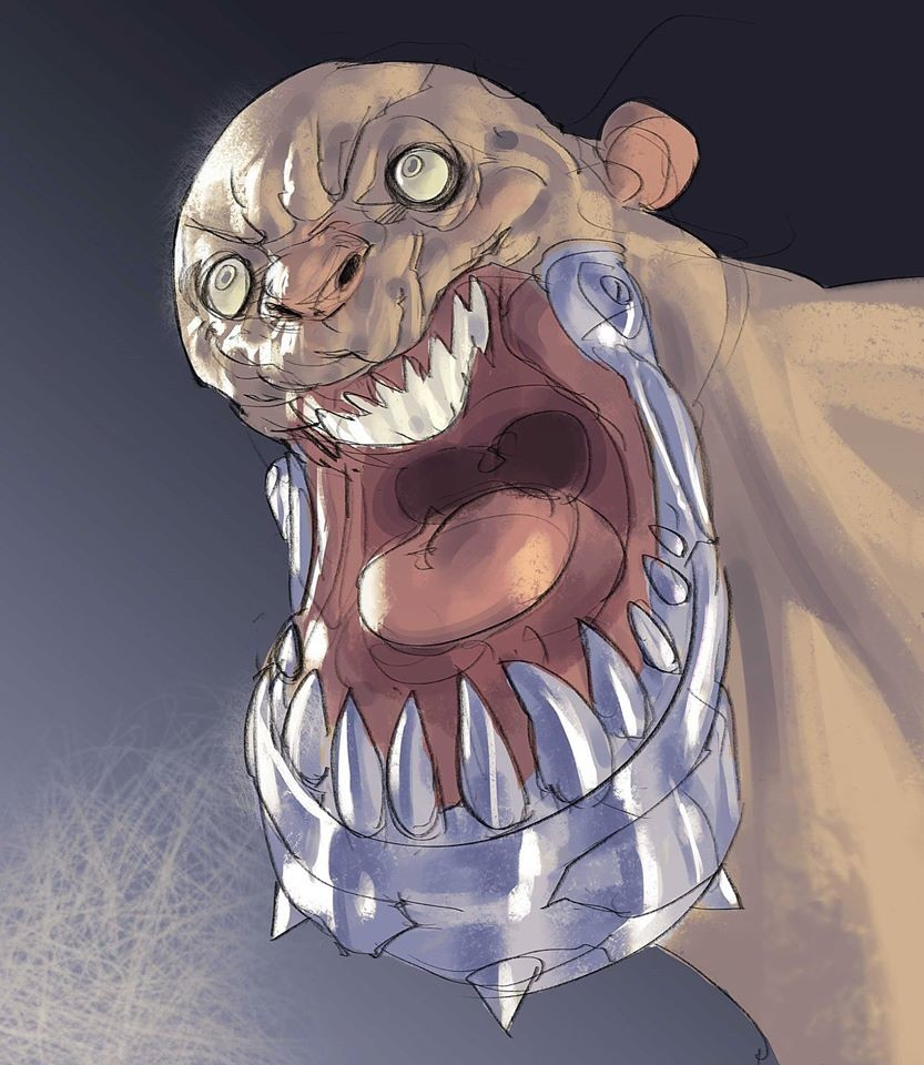 Heavy Jaw, 30min spitpainting