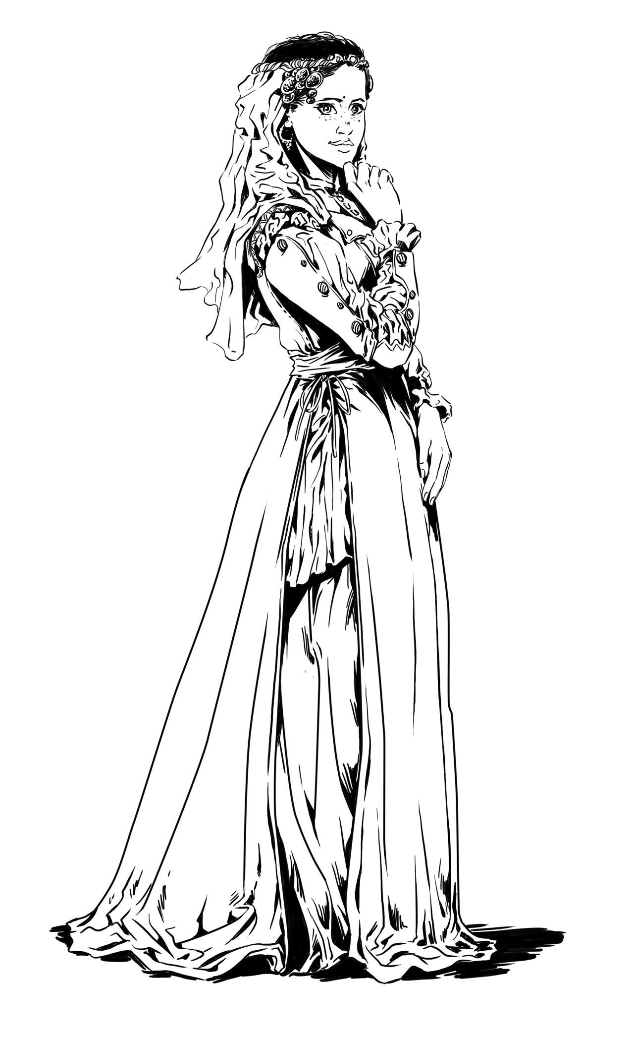 Axelle bouet eteoclienne robe3