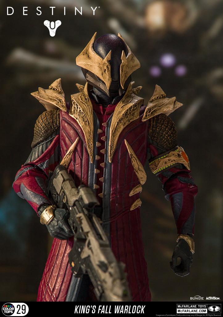 Mcfarlane Toys - Destiny: Warlock Kings Fall - Action figure