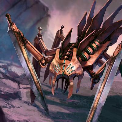 Biagio d alessandro sword spider2 biagio d alessandro