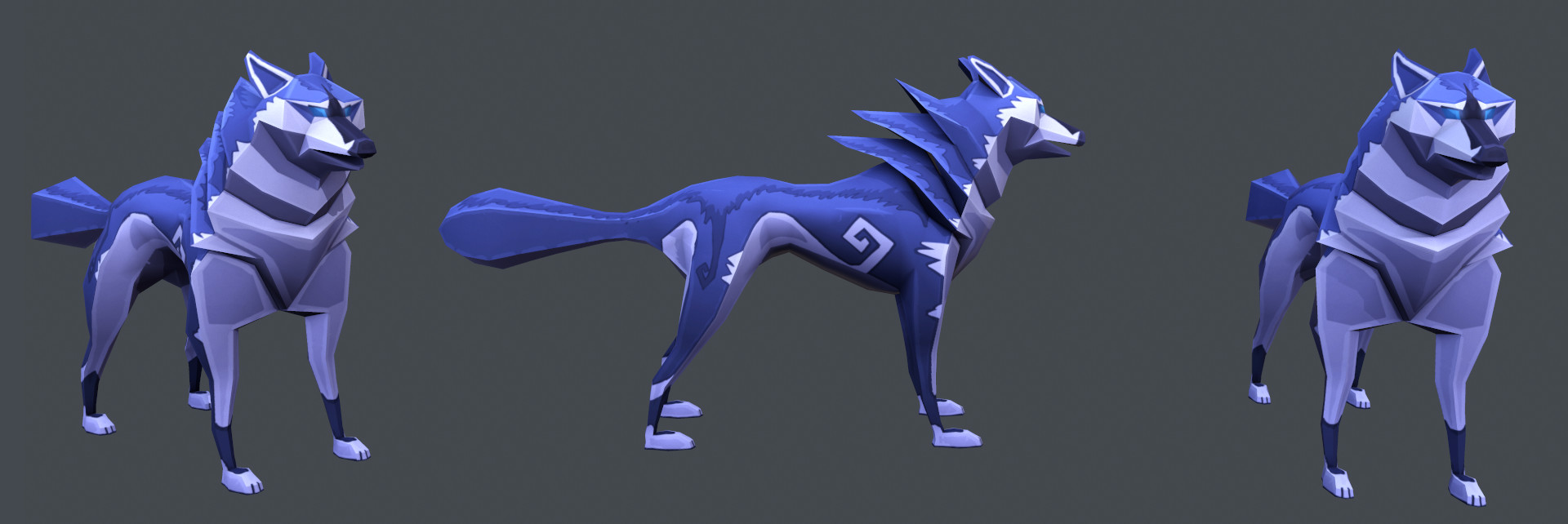 Wolf Character