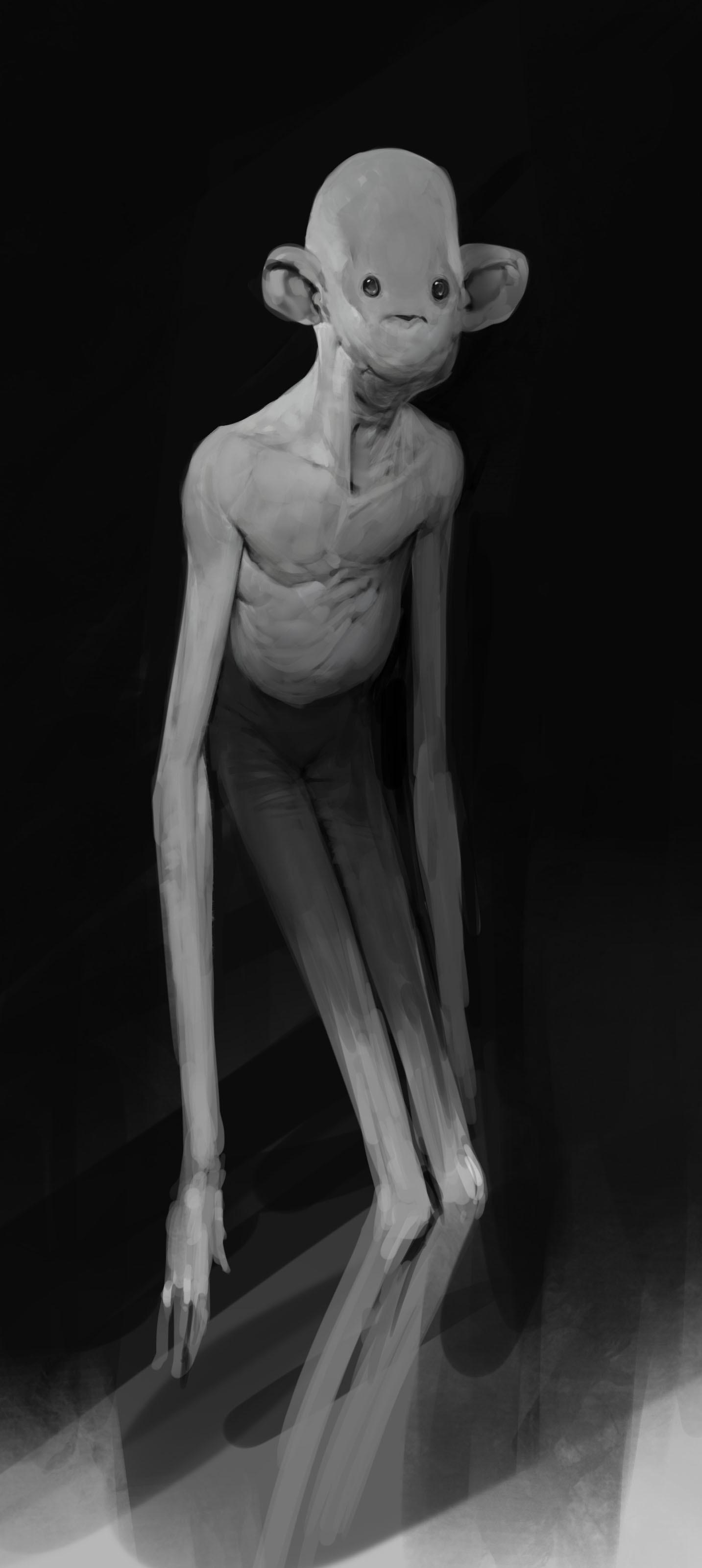 ArtStation - Long arms skinny legs. , Anthony Jones
