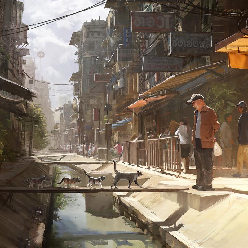 Bangkok XXIII - Sunny Alley