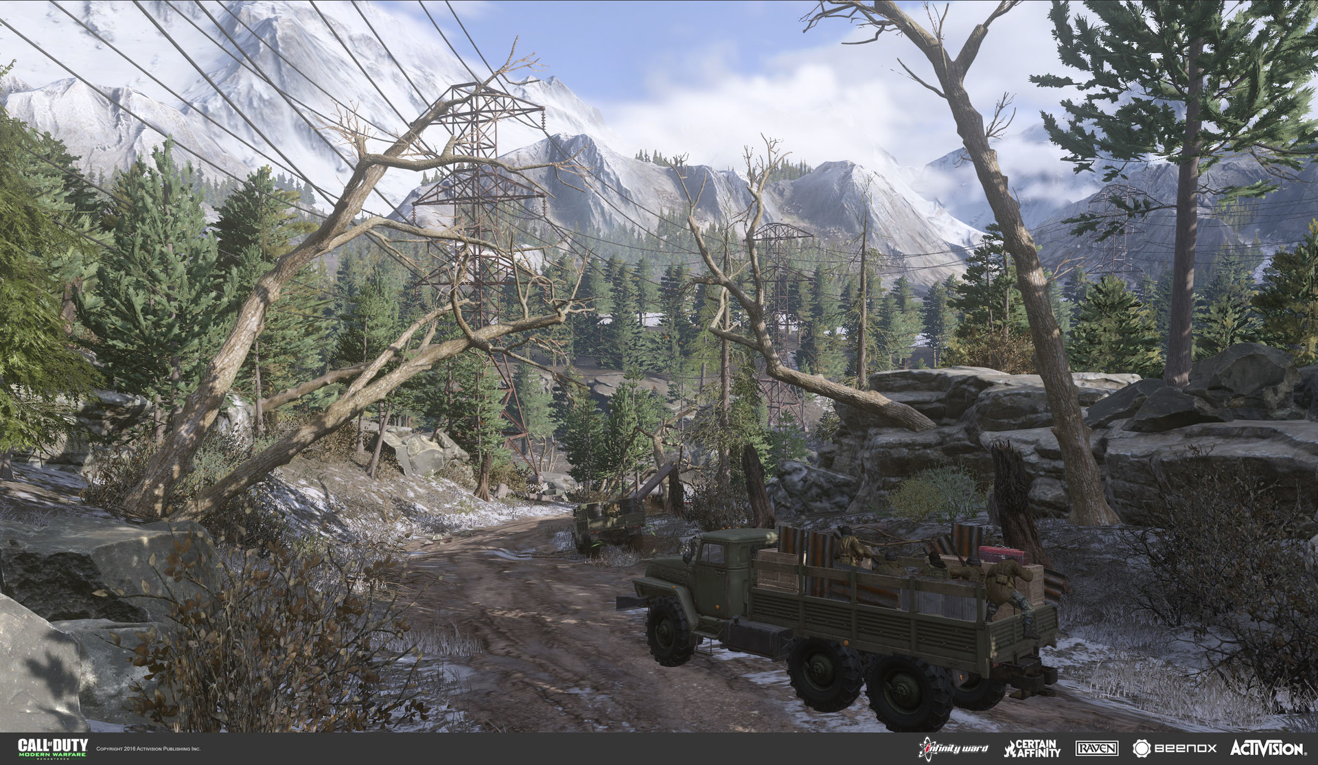 ArtStation - Call of Duty: Modern Warfare Remastered - Game Over