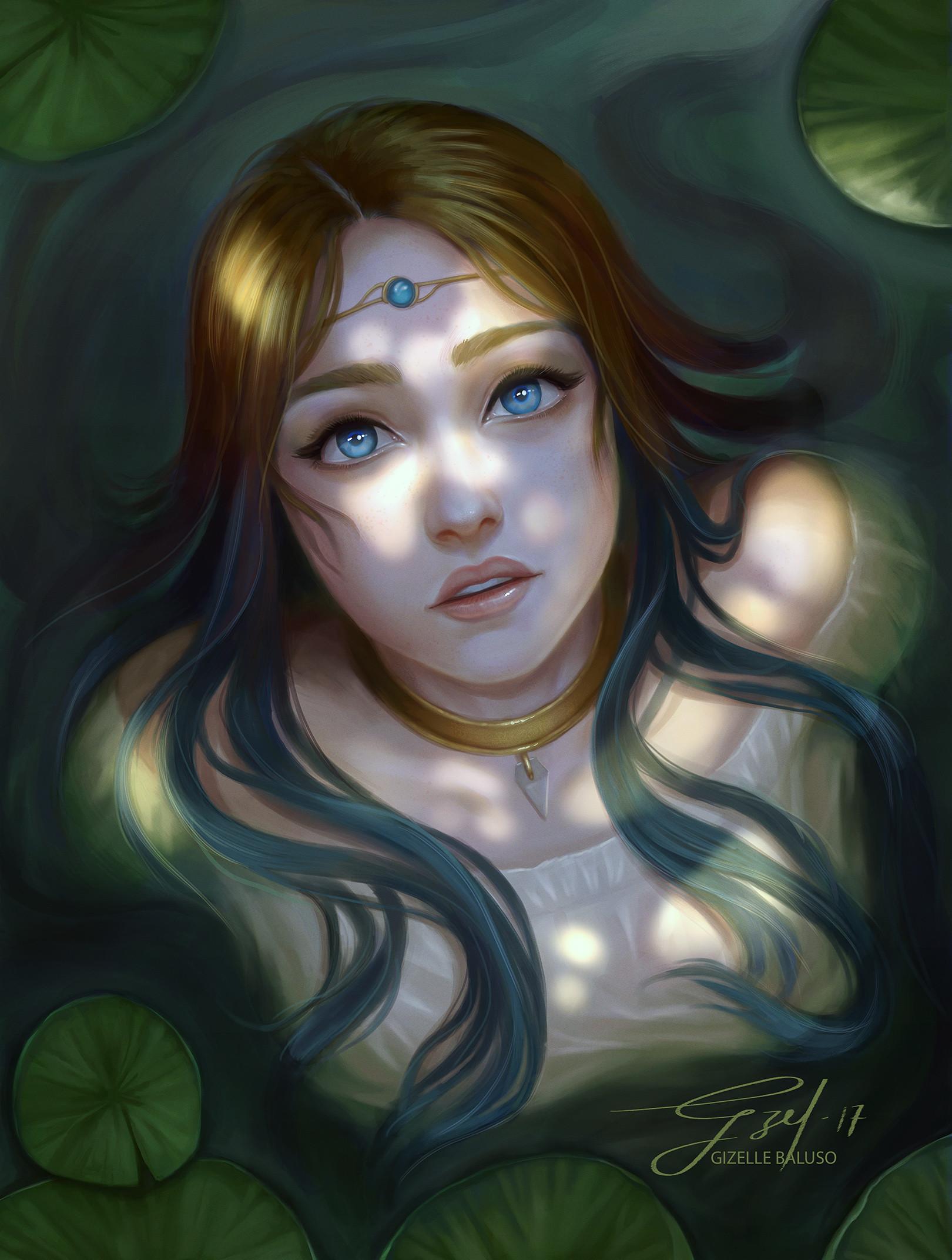 Gizelle karen baluso water fairy artofgzel hi