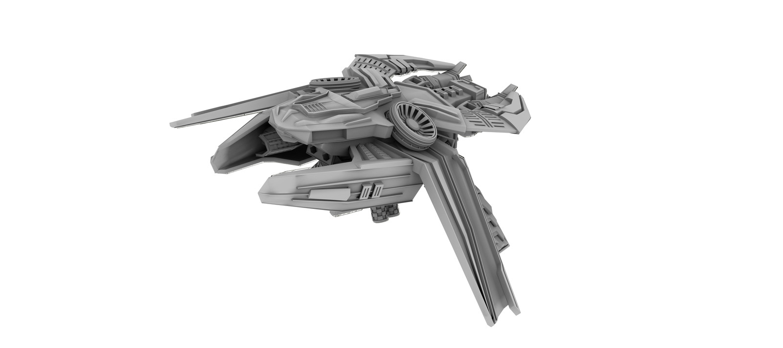 Starship - Ambient Occlusion