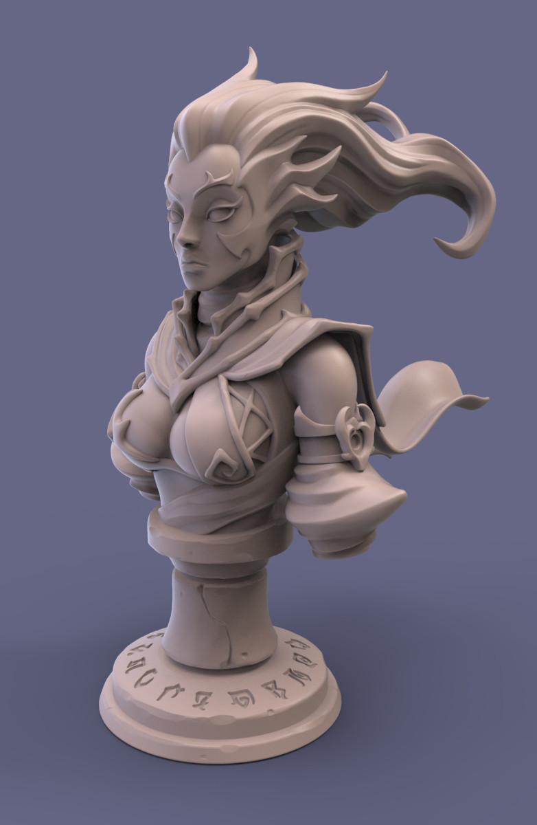 Fury Statuette.