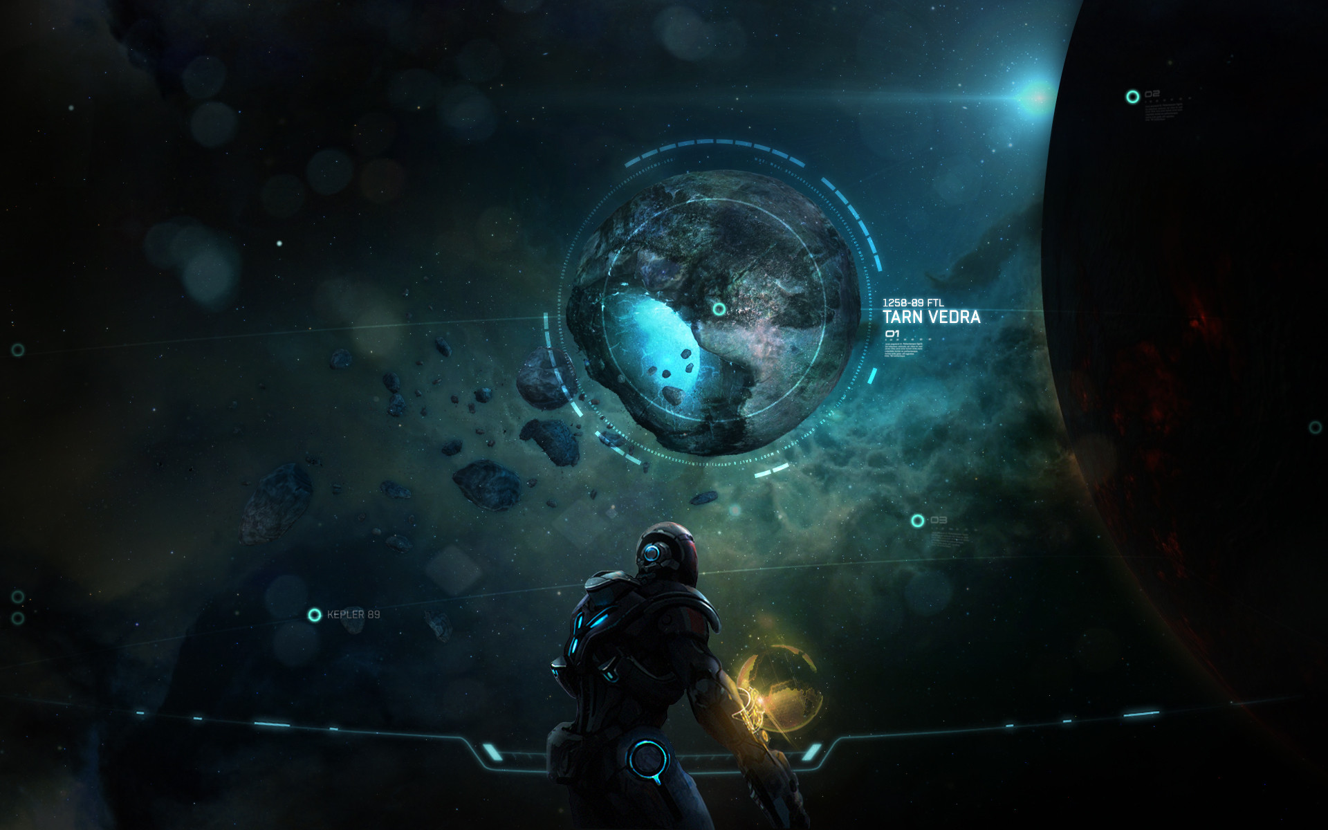 ArtStation - Mass Effect Andromeda - UI Design, Eric
