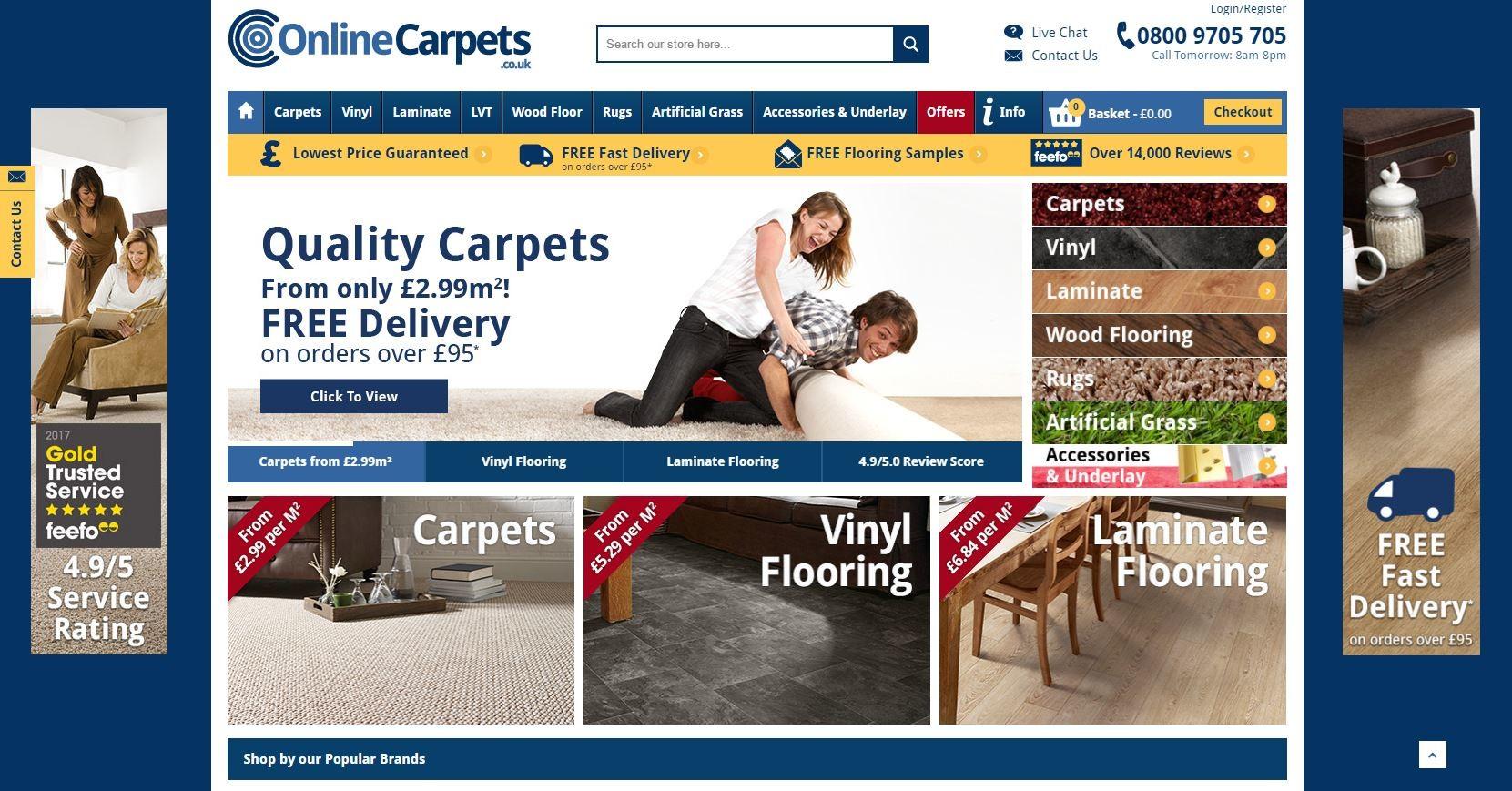 Online Carpets Uk >> Richard Bradshaw Online Carpets