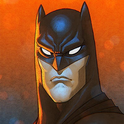 Syko san batman colours 4