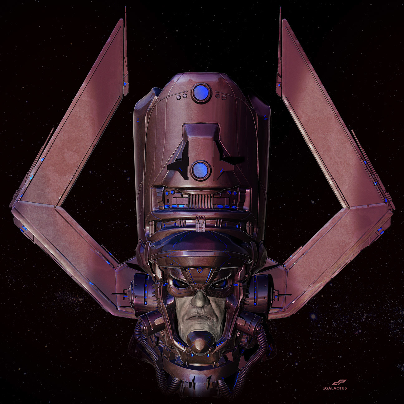 Dope pope zgalactus by dp