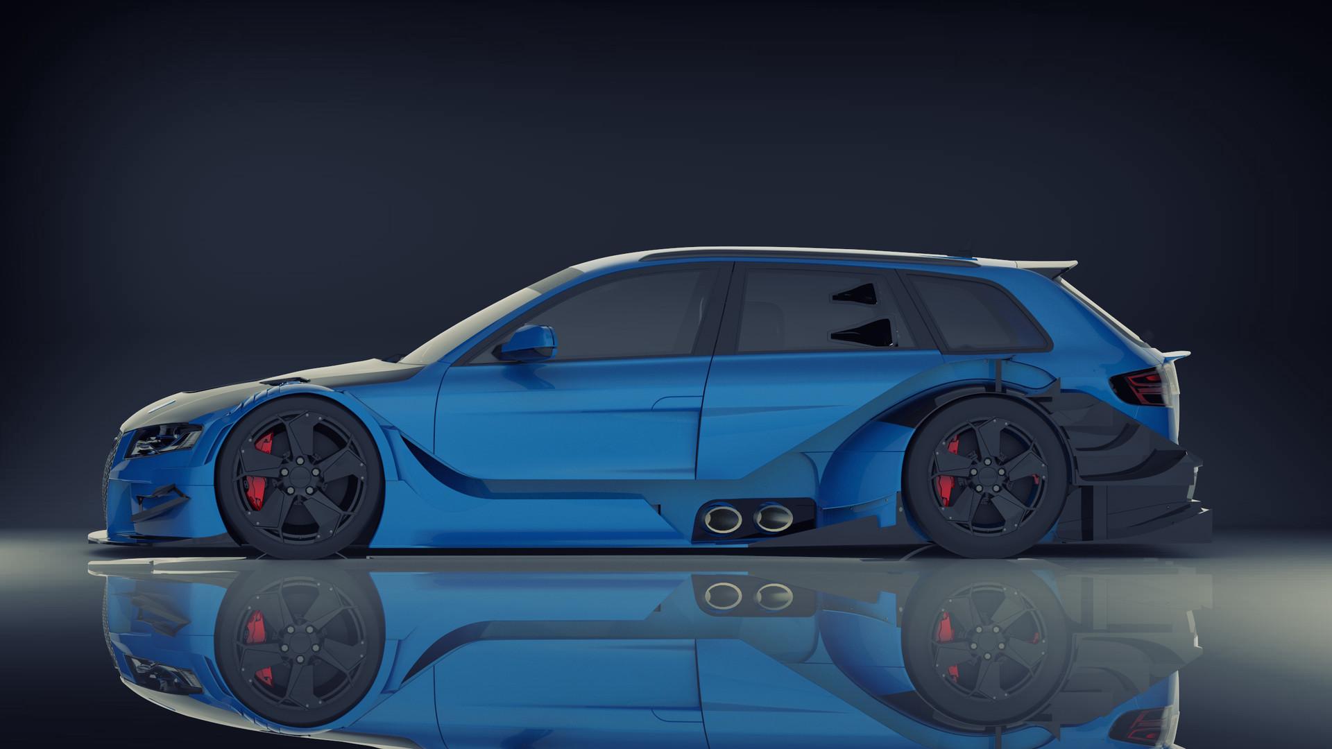 Serhii Buriachkivskyi Audi Rs6 Dtm