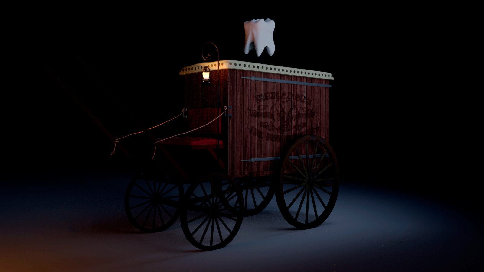 Dentist's wagon