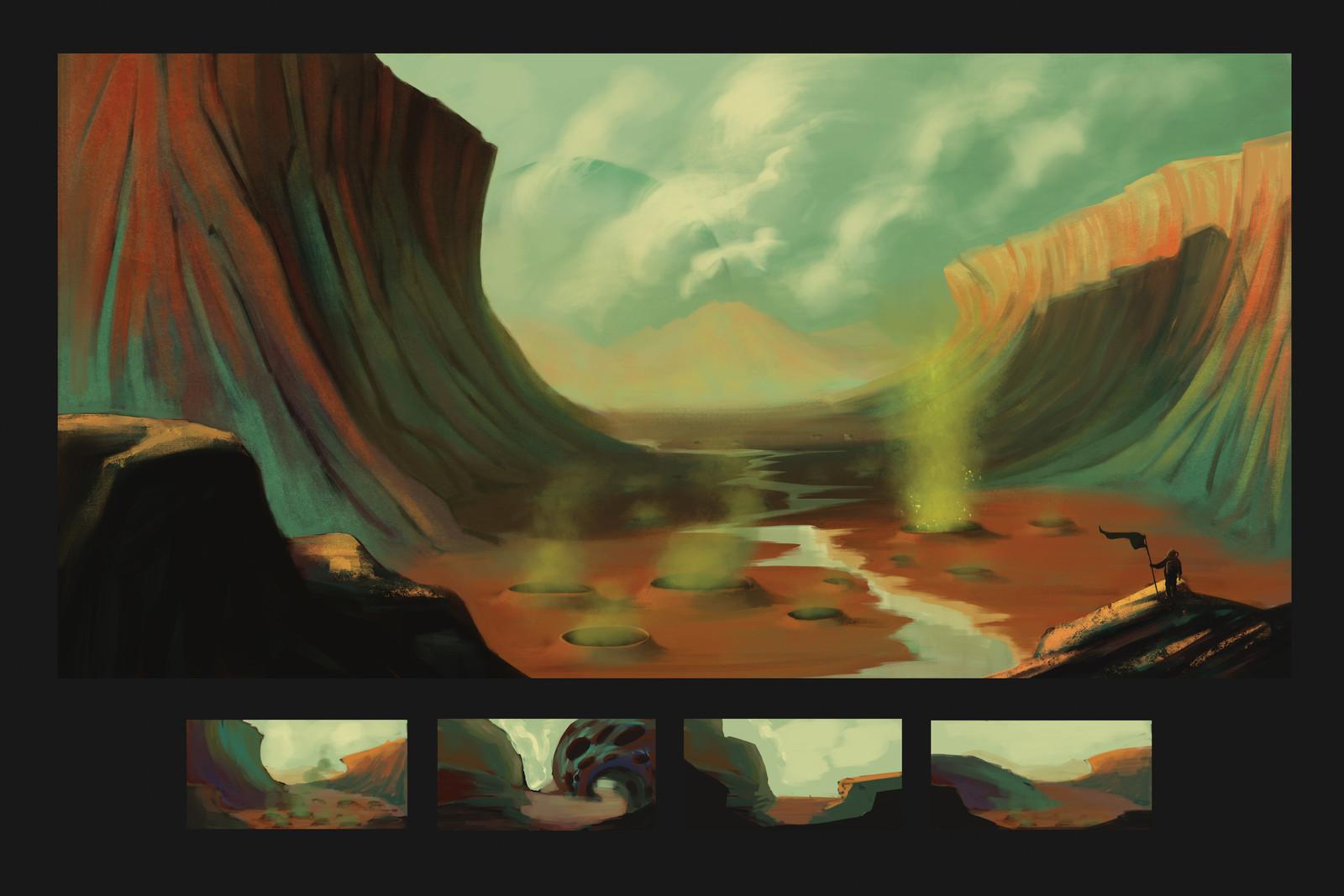 The Acid Plains of Azur G'hai
