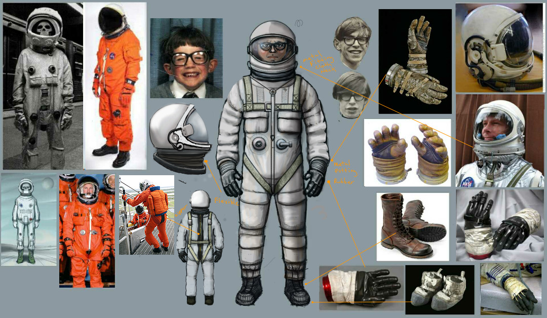 Lee williamson astronaut concept