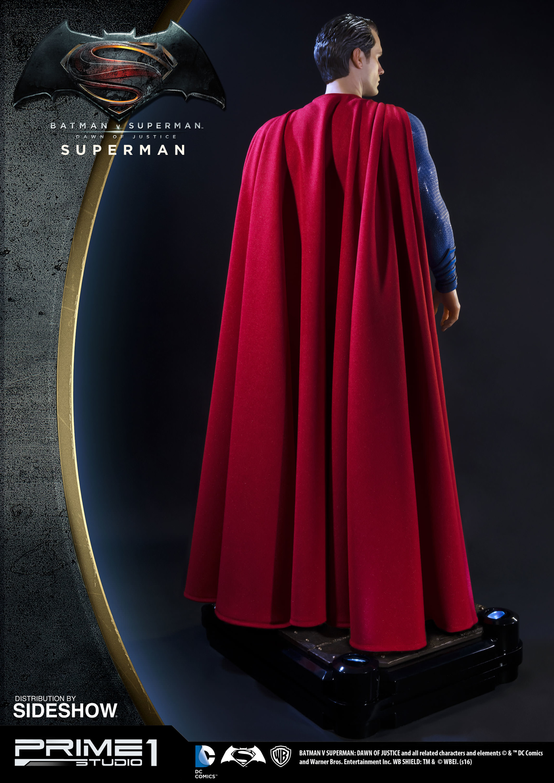 Alvaro ribeiro dc comics batman v superman superman half scale polystone statue prime 1 902664 09
