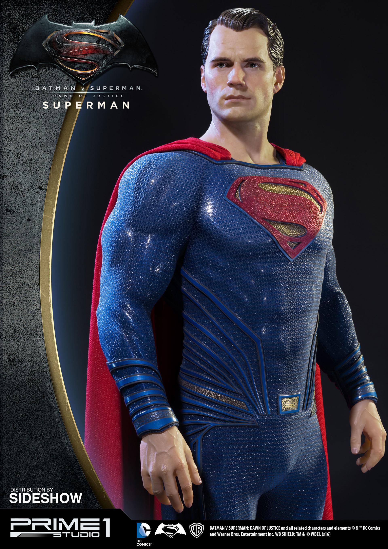 Alvaro ribeiro dc comics batman v superman superman half scale polystone statue prime 1 902664 02