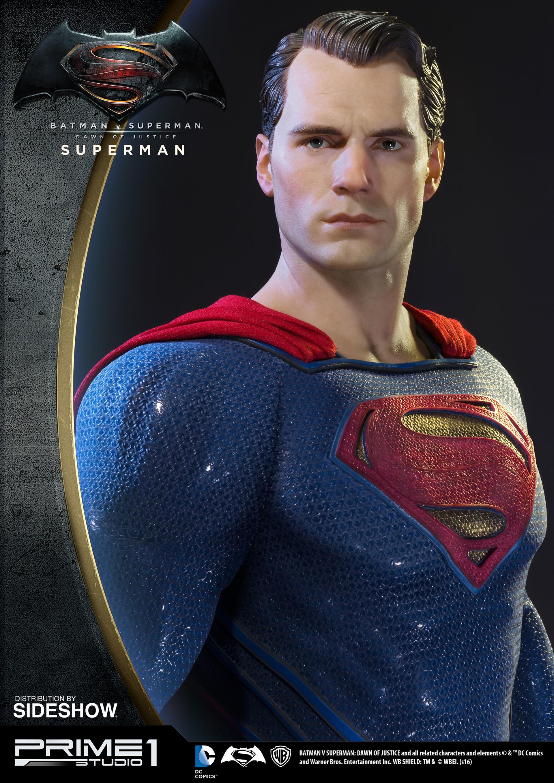 Alvaro ribeiro dc comics batman v superman superman half scale polystone statue prime 1 902664 05