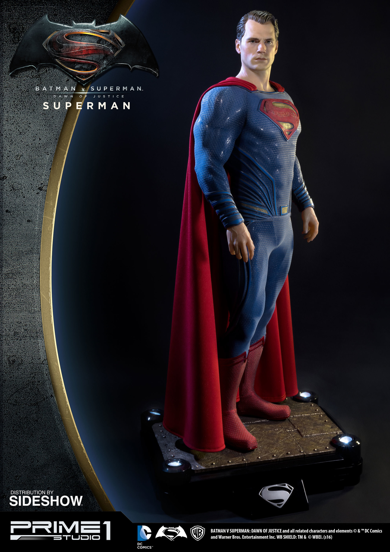 Alvaro ribeiro dc comics batman v superman superman half scale polystone statue prime 1 902664 06