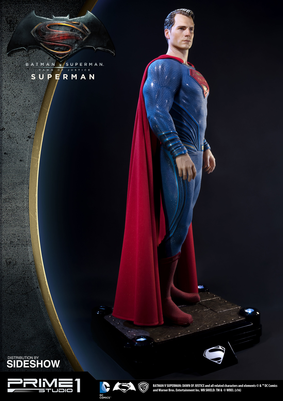 Alvaro ribeiro dc comics batman v superman superman half scale polystone statue prime 1 902664 08