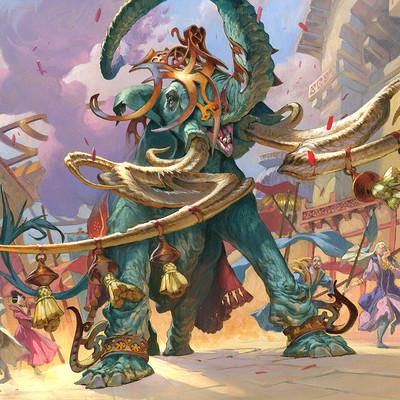 Jesper ejsing art id 162548 parade elephant final