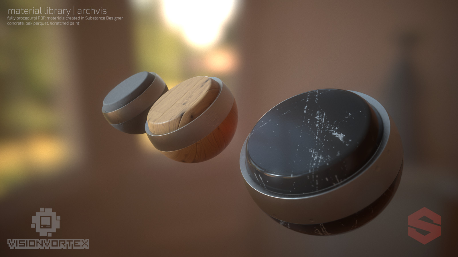 ArchVis Material Library -  Substance