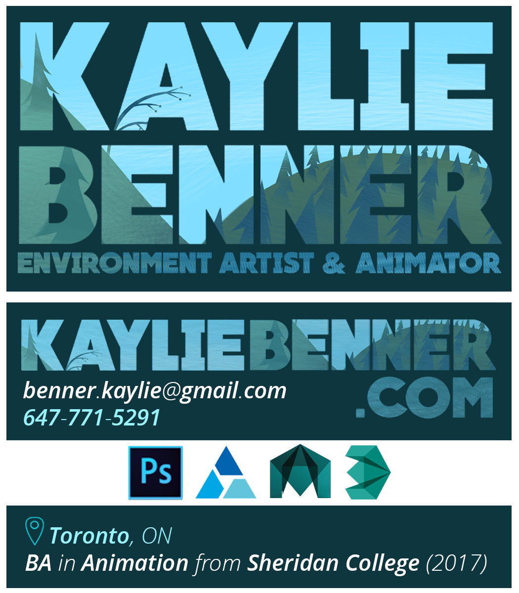 Kaylie benner businesscards