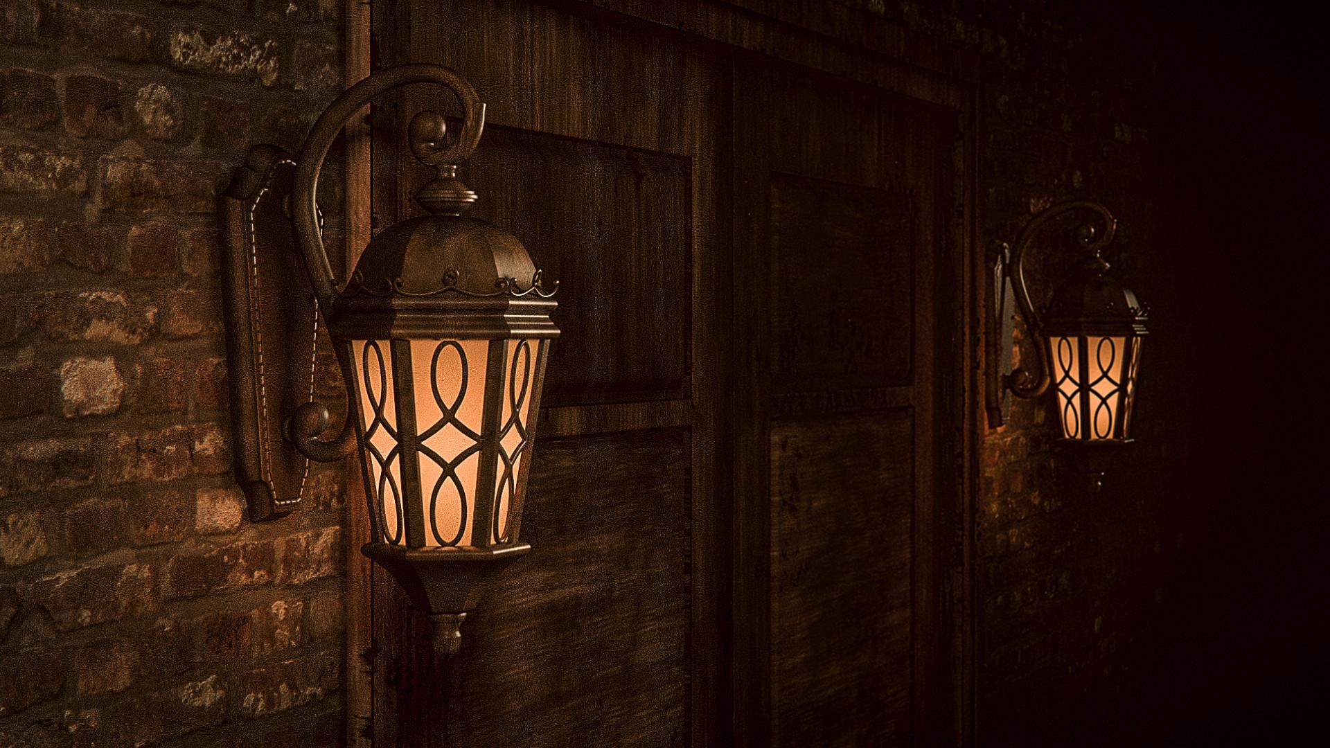 Картинки старинных фонариками
