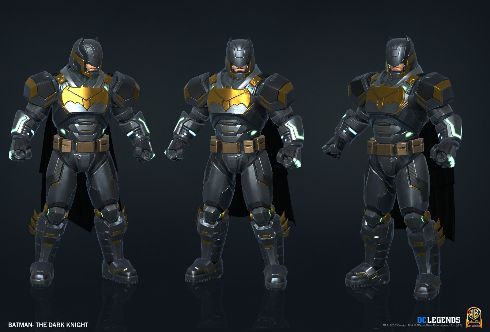 Batman The Dark Knight Legendary High Poly, Low Poly and Textures/Material work done by me.