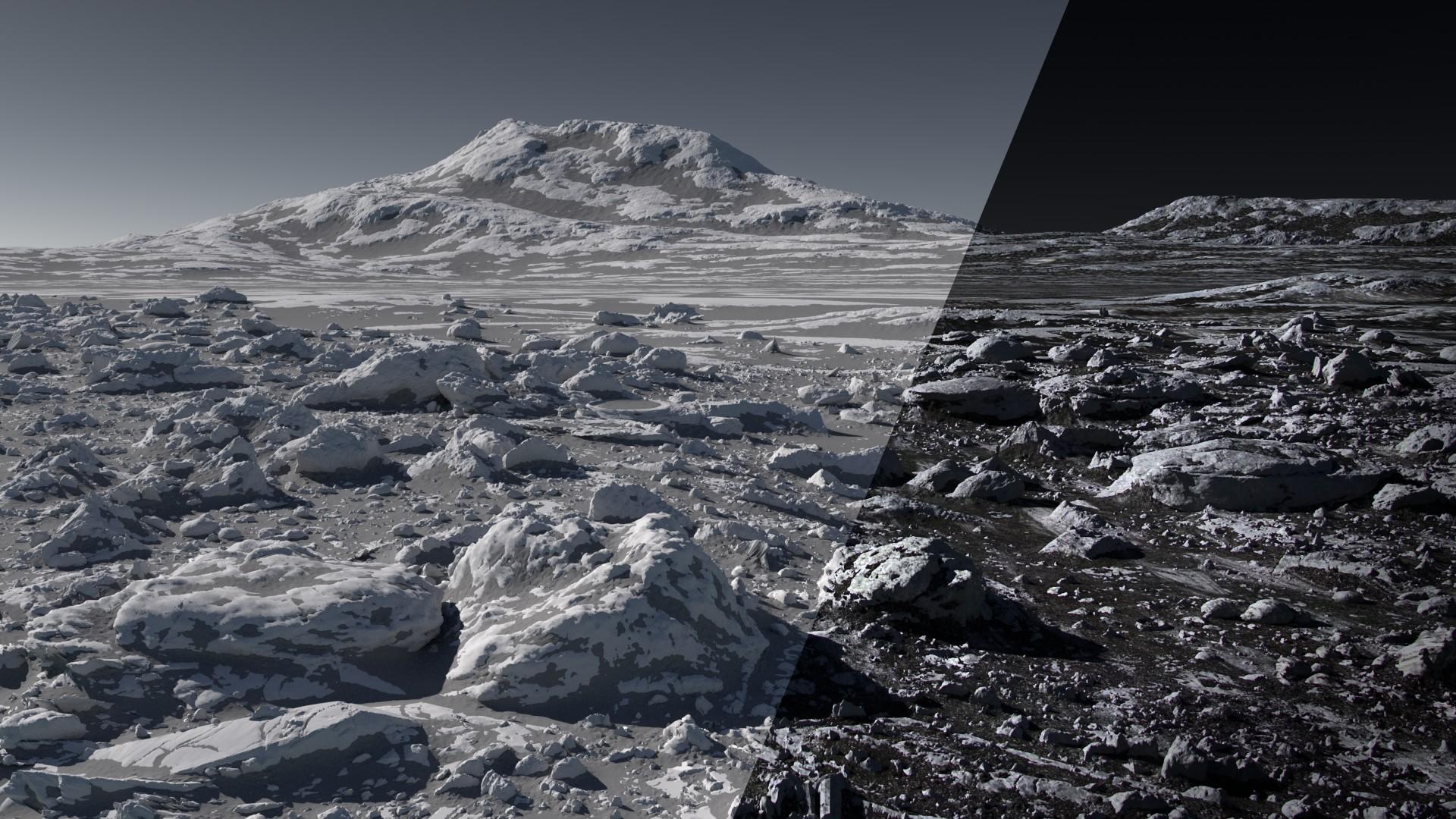 ArtStation - Procedural rocks terrain, xu Shumu