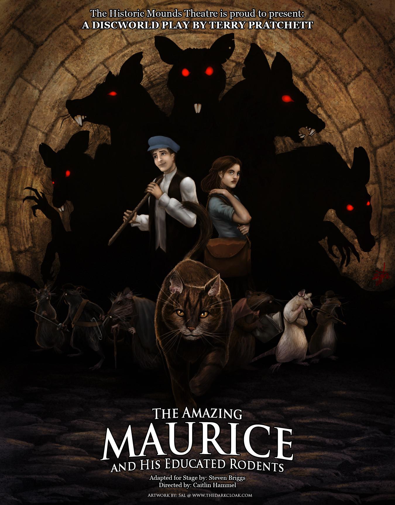 Sal vador thedarkcloak maurice posterrevised 2