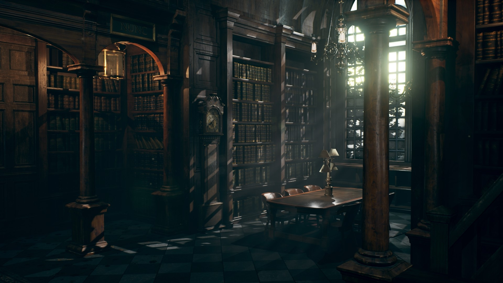 Jayson Kassis Hogwarts Library