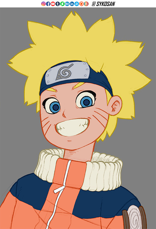 Syko san naruto colours 1