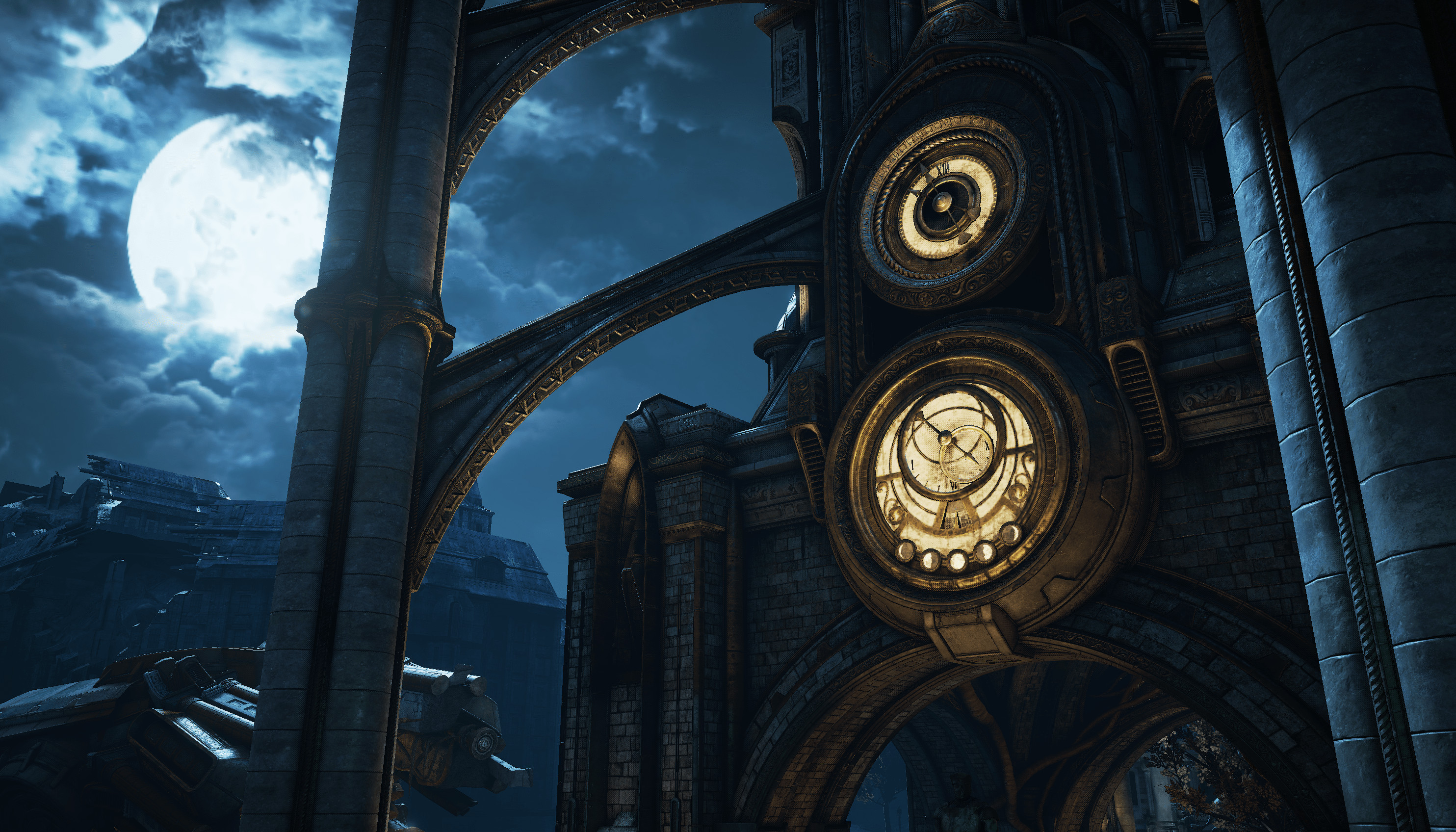 Responsible for creation clocktower look development, texture creation, and partial modeling.
